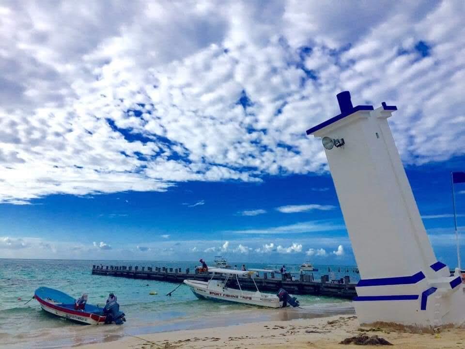 puerto morelos Mexico beaches