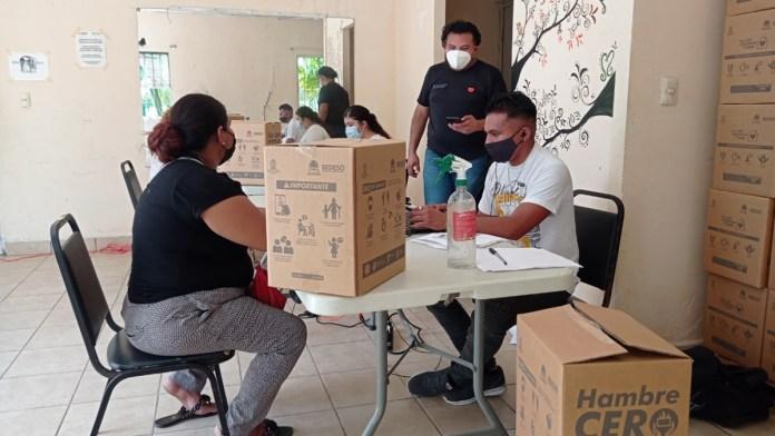 Apuntalan la entrega de ayuda alimentaria
