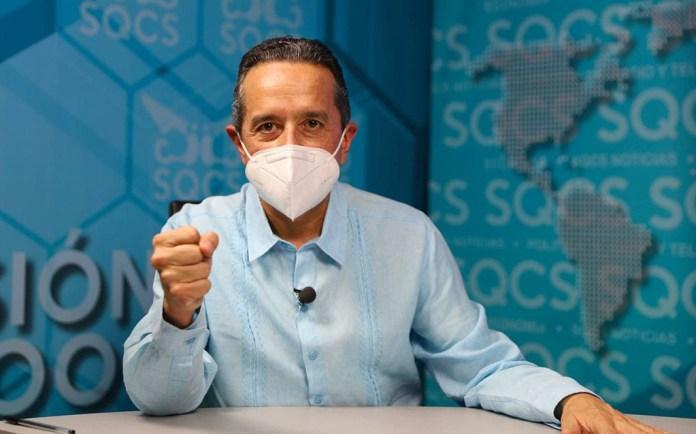 Reduced in Quintana Roo contagios por Covid