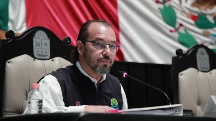 Puente de Nichupté seguirá las condiciones aprobadas por el Congreso.- Ortiz Jasso